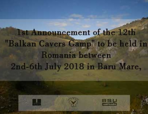 BALKAN CAVERS CAMP-2018